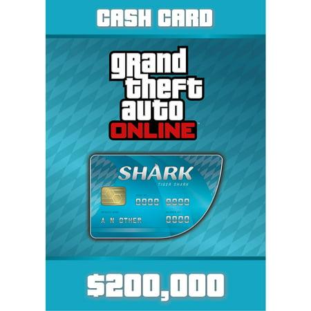 Grand Theft Auto Online - Tiger Shark Card (PC)(Digital Download) (Shark Gta)