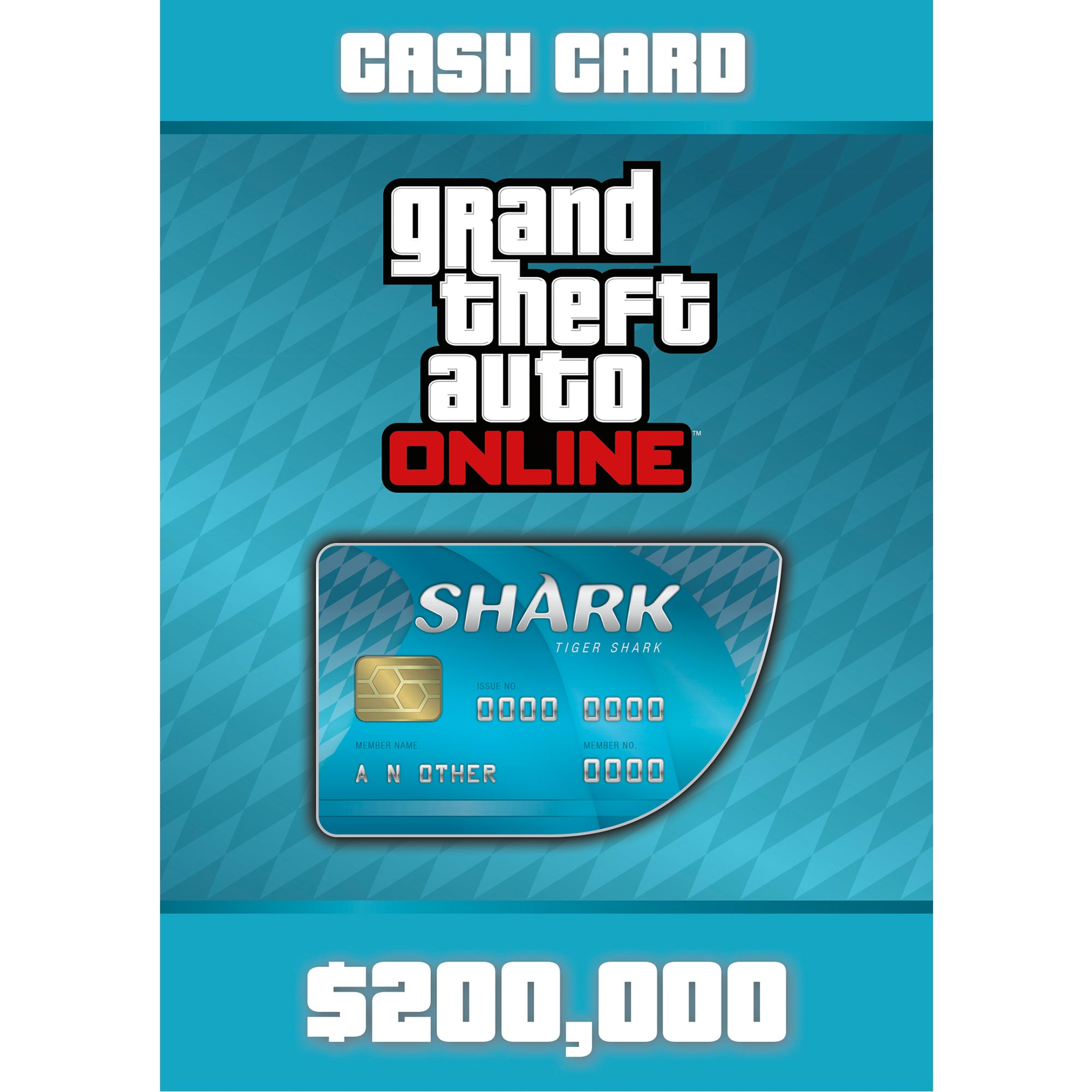 Grand Theft Auto Online - Tiger Shark Card (PC)(Digital Download)
