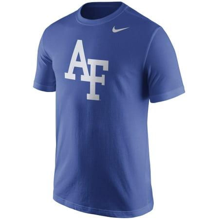 Air Force Falcons Nike Logo T-Shirt - Royal Blue
