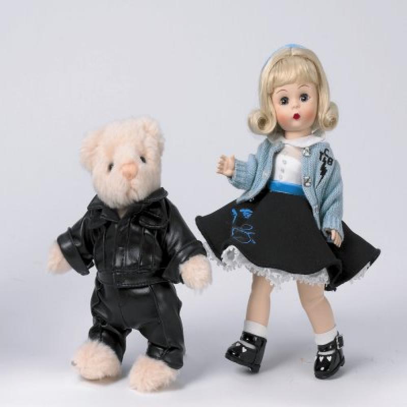 "Madame Alexander Dolls, 8"" Be My Teddy Bear, Signature El..."