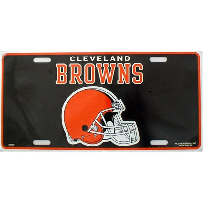 LP - 743 Cleveland Browns NFL Football License Plate - 2801M