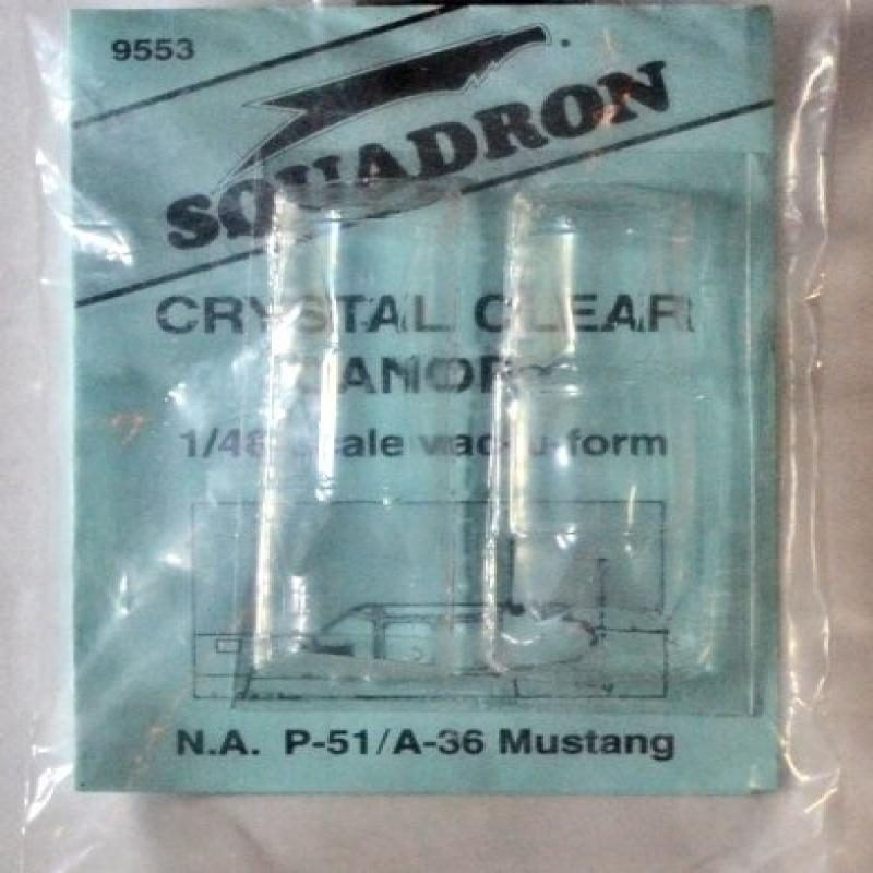 Squadron Products P-51A/A-36 Canopy Set #3