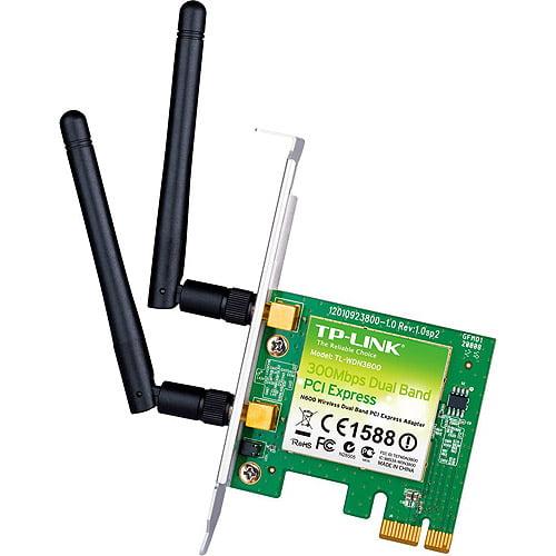TP-Link TL-WDN3800 N600 Wireless-N PCIe x1 Network Card Adapter