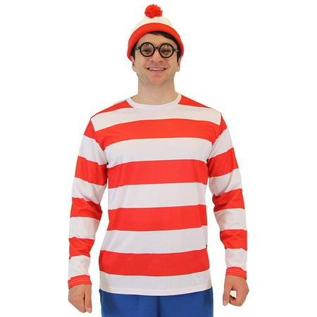 Where's Waldo DELUXE Costume (Where's Waldo Costume Boy)