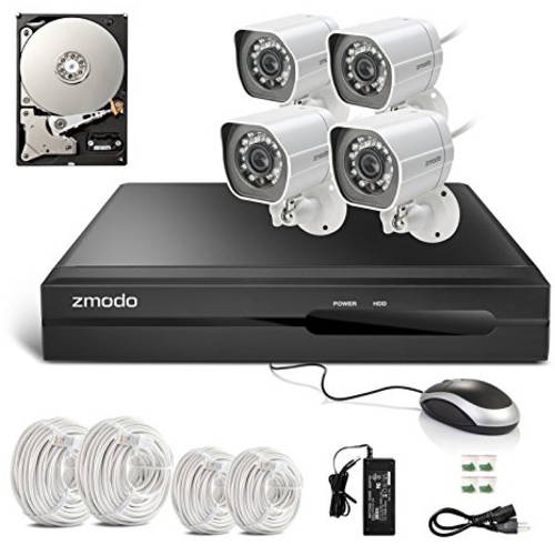 Cámaras De Vigilancia Zmodo 4-Channel 1080p Full HD sPoE NVR Security System with 2TB Hard Drive + Zmodo en VeoyCompro.net