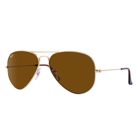 Ray-Ban Unisex RB3025 Classic Aviator Sunglasses, (Ray Ban 3025 Mirror)