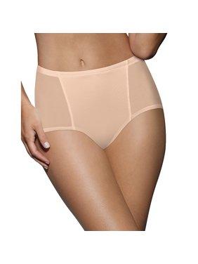 Women's One Smooth U Simply Smooth Brief Panty, Nude, Medium/6