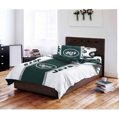 NFL New York Jets Bed in a Bag Complete Bedding Set