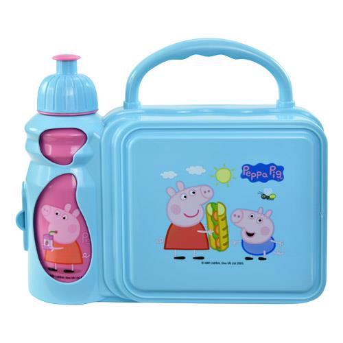 Peppa Pig Combo Lunch Box with Water Bottle