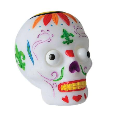 US Toy Trick-Or-Treat Popping Eye Sugar Skull 2.5