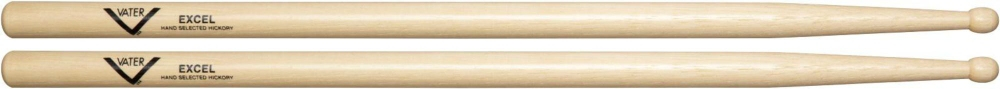 Vater American Hickory Excel Drumsticks Wood by Vater