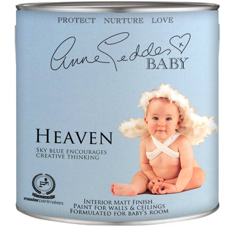 Anne Geddes Nursery Room Interior Paint, Heaven Blue