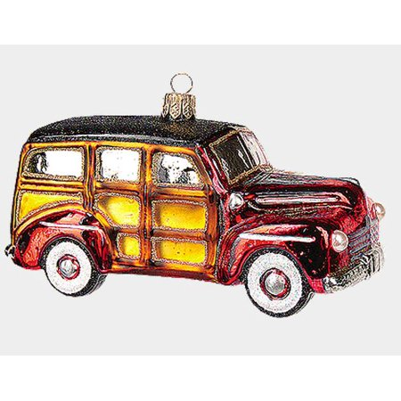 Retro Woody Car Automobile Polish N Gl Christmas Ornament Decoration