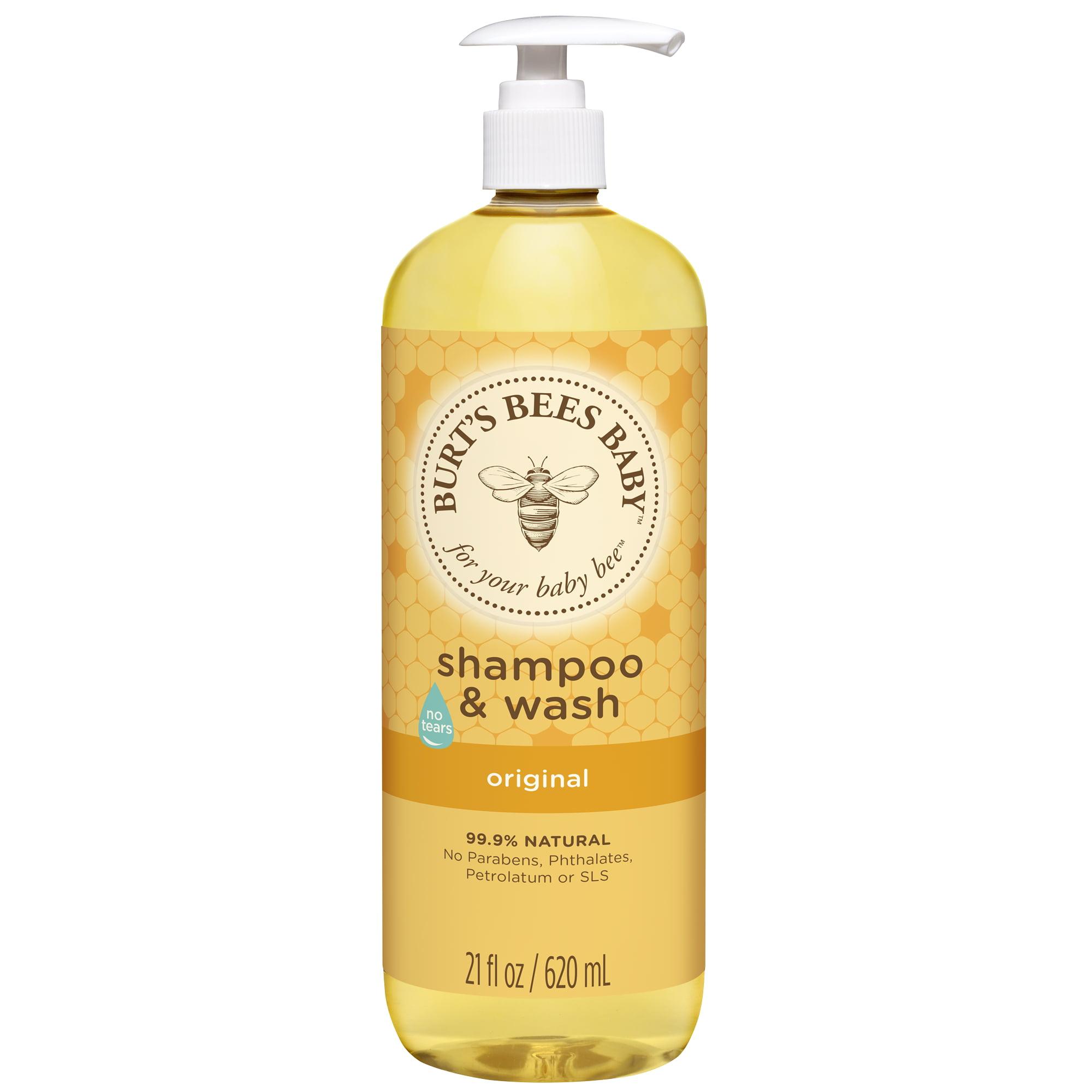 Burt's bees baby shampoo & wash, 21 ounces