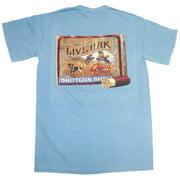 Live Oak Brand Shotgun Quail Box T-shirt
