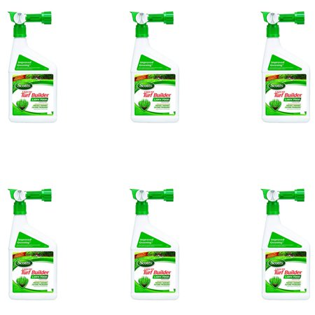 Scotts Turf Builder Lawn, Soil & Grass Fertilizer Concentrated Spray (6 Pack)