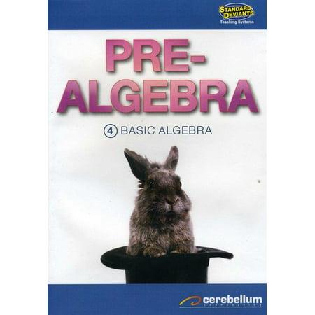 TS Pre-Algebra Module 4: Basic Algebra (DVD)