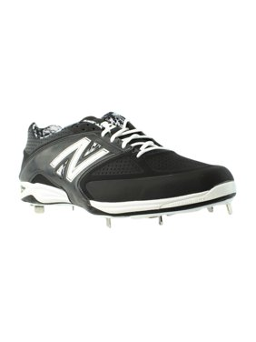 6852fdf65cd97 Product Image New Balance Mens L4040bk2 Black Cleats Athletic Shoes Size  EUR 51 New