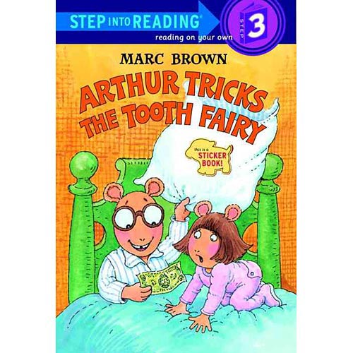 Arthur Tricks the Tooth Fairy: Sticker Book