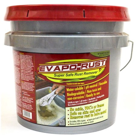 Evapo-Rust, Super Safe, Non-Toxic, Biodegradable, Rust remover 3.5 Gallon (Best Liquid Paint Remover)