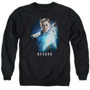 Star Trek Beyond Kirk Poster Mens Crew Neck Sweatshirt