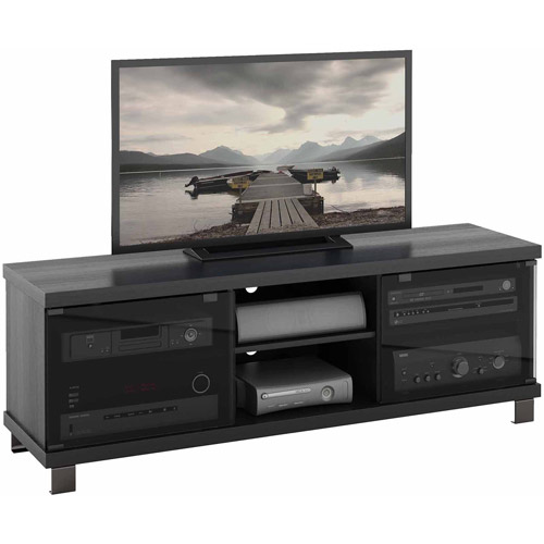 Sonax Holland Ravenwood Black TV Bench for TVs up to 68""