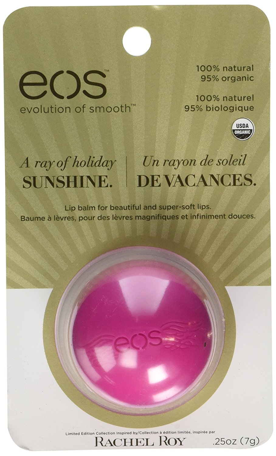 Organic Lip Balm Sphere - Summer Fruit By EOS Ship from US Titanium Micro Needle Roller Derma Anti Acne Scars Stretch Marks Age Spots 2.0mm