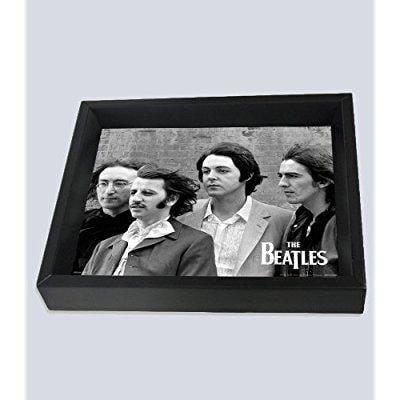 Image of beatles group shadow box