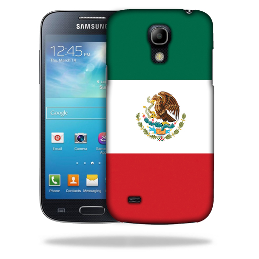 MightySkins Snap-On Protective Hard Case Cover for Samsung Galaxy S4 Mini Case Mexican Flag