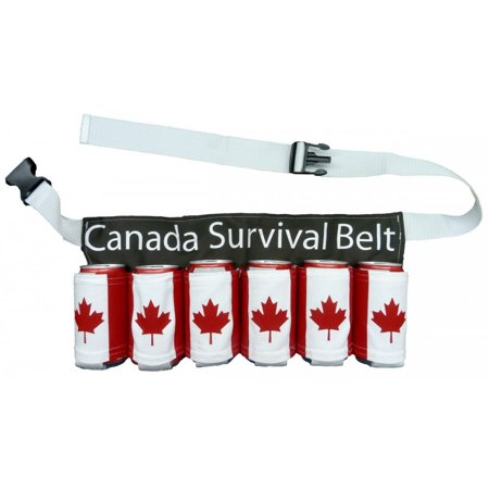 Canada Survival 6 Can Beer Belt - Duffman Beer Belt