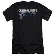 Criminal Minds Season 10 Cast Mens Slim Fit Shirt