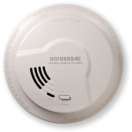 Universal Security Instruments 976LR 9V Smoke and Fire Alarm with Quick Change Battery