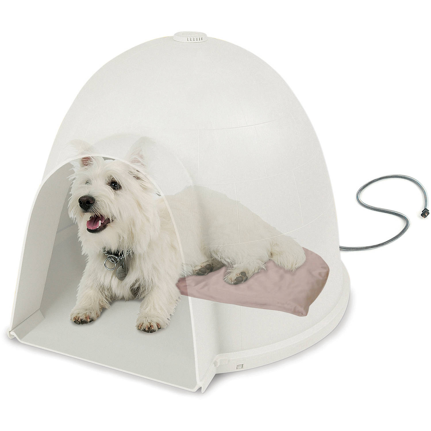 K&H Lectro-Soft Igloo Style Heated Bed