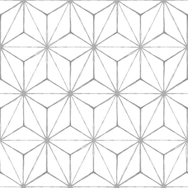 FloorPops Kikko Peel & Stick Floor Tiles 10 Tiles/10 sq. ft.