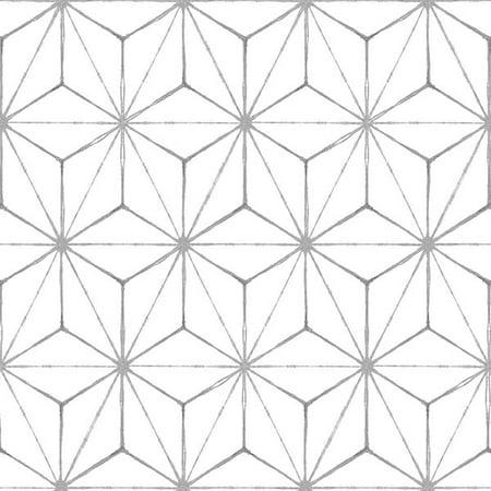 FloorPops Kikko (5 Cartons-50 Tiles) Peel & Stick Floor Tiles - 50 sq. ft.