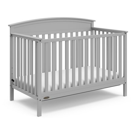 Graco Benton 4 in 1 Convertible Crib Pebble Gray (Graco Crib Screws)