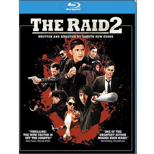The Raid 2 (Unrated) (Blu-ray + Digital HD) (With INSTAWATCH) (Widescreen)