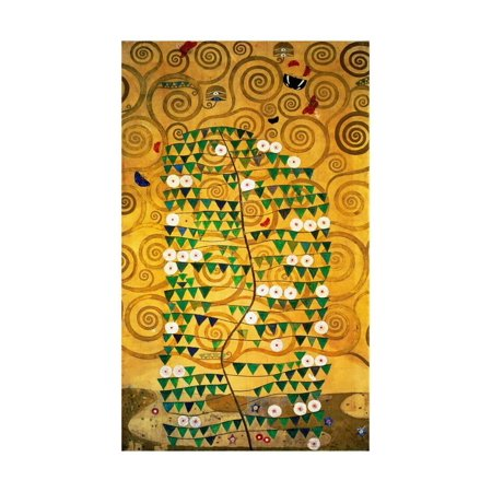 The Stoclet Frieze, Detail: Tree of Life, 1905-1909 Print Wall Art By Gustav Klimt