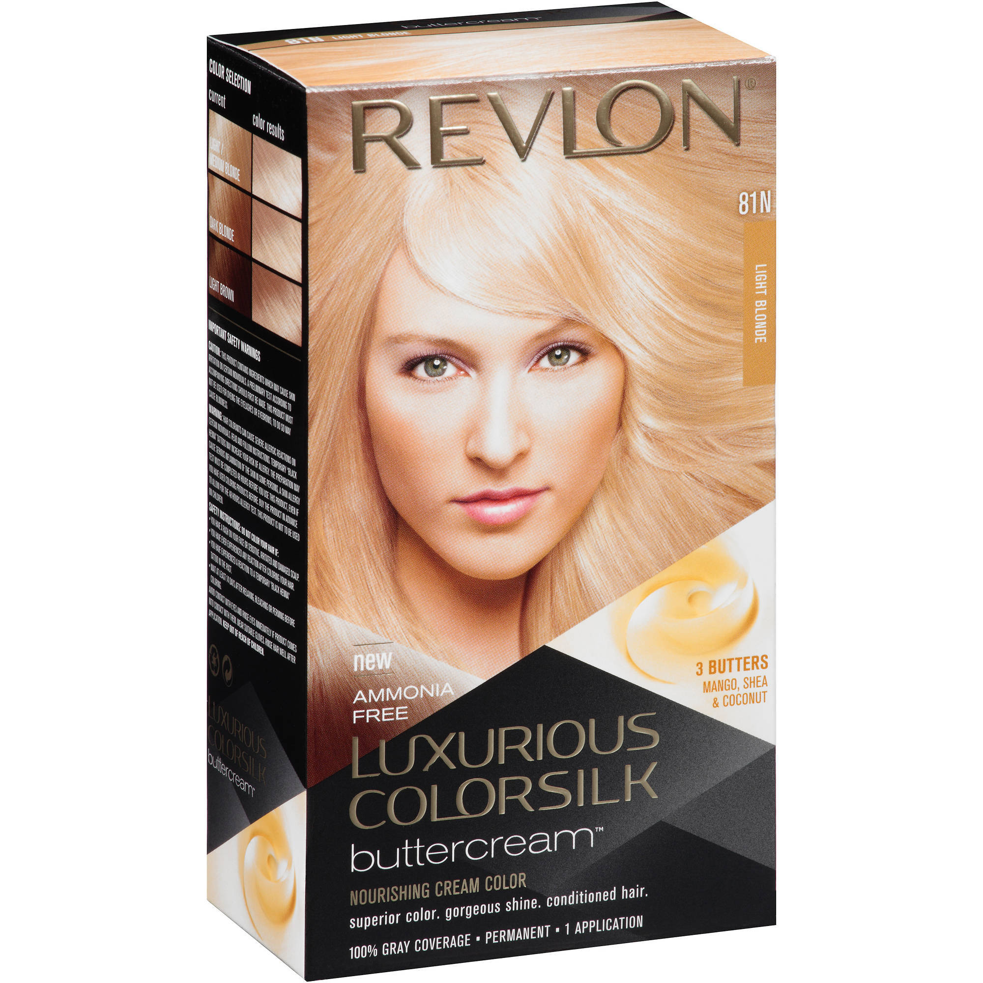 Revlon Luxurious Colorsilk Buttercream Hair Color, Choose Your Color