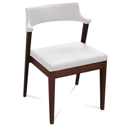Domitalia Lyra Genuine Leather Upholstered Dining Chair (...