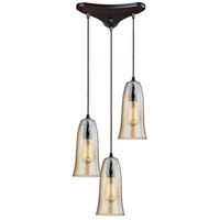 World of Lamp WLA113618 Pendants Oil Rubbed Bronze Metal and Glass Algol
