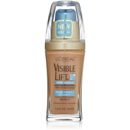 L'Oreal Visible Lift Serum Absolute Advanced Age-Reversing Makeup, Sand Beige 1 oz (Pack of