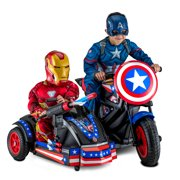Best Kids Motorcycles - Kid Trax 12-Volt Captain America Motorcycle Ride-On Review