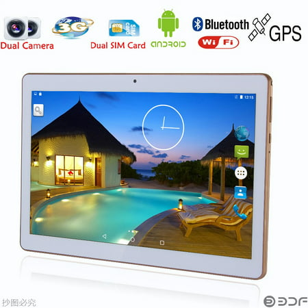 10 inch Original Dual sim card Android 6.0 Quad Core CE Brand 3G Phone Call WiFi new pc 2GB+16GB pc 7 8