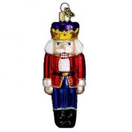 Old World Christmas Nutcracker Prince Glass Blown Ornament