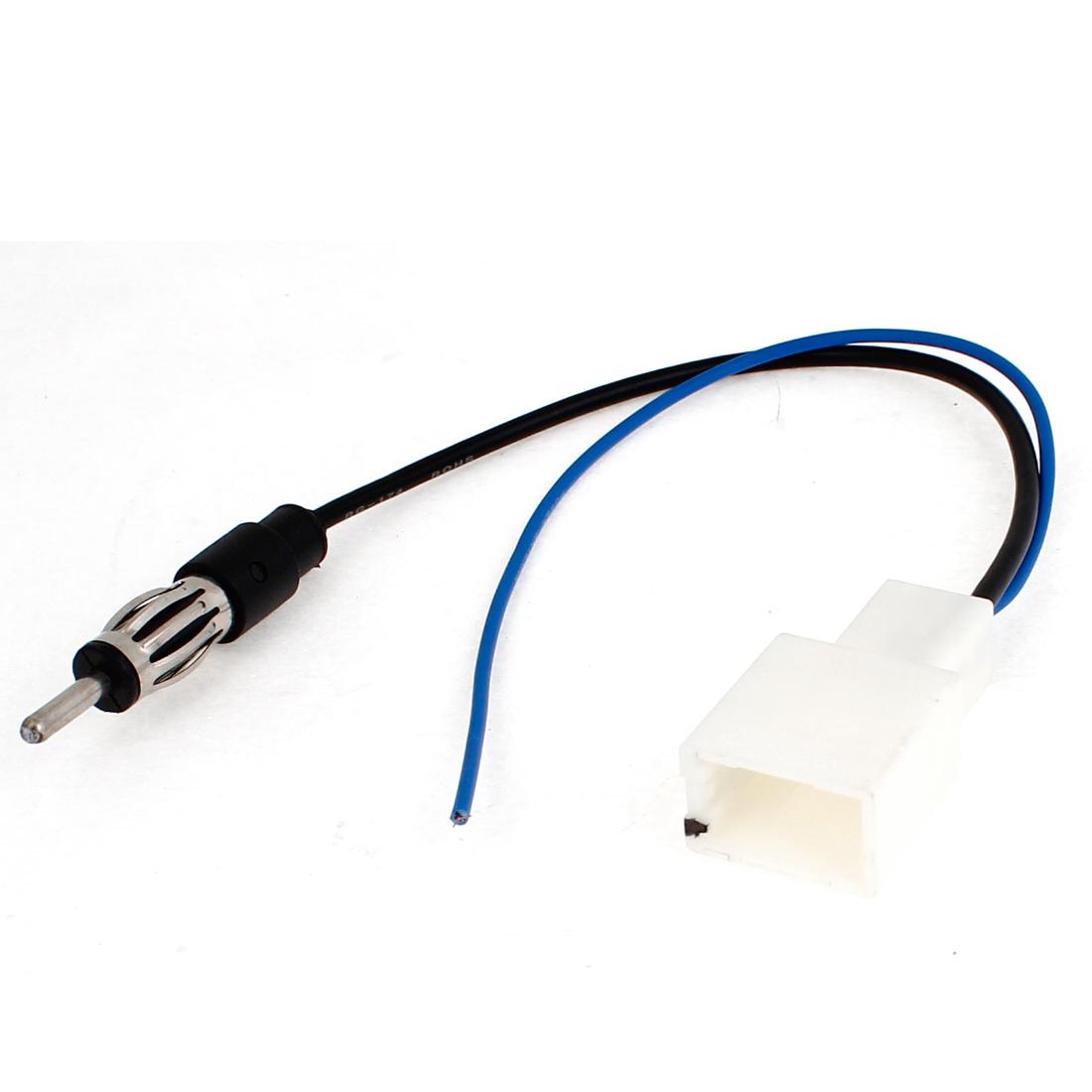 Unique Bargains Car Cd Radio Aerial Antenna Plug Repair Adapter
