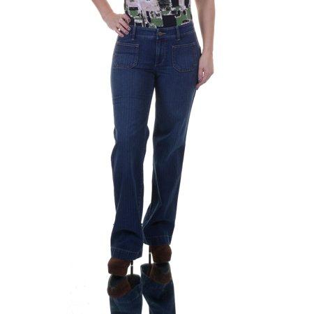 Indigo Striped Jeans - LAUREN Ralph Lauren Indigo Jeans  Size 4 NWT - Movaz