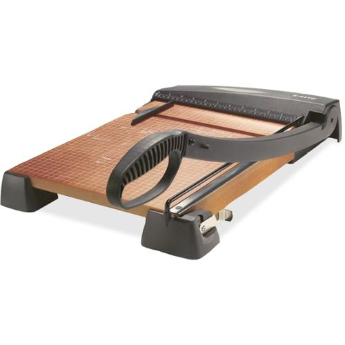 """X-Acto X-ACTO Heavy-Duty Wood Paper Trimmer - 15"""" Cutting Length - Wood Base, Steel Blade"""