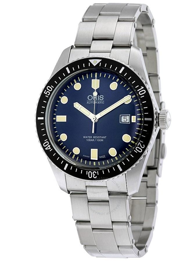 Oris Divers Sixty-Five Automatic Blue Dial Men's Watch 01 733 7720 4055-07 8 21 18