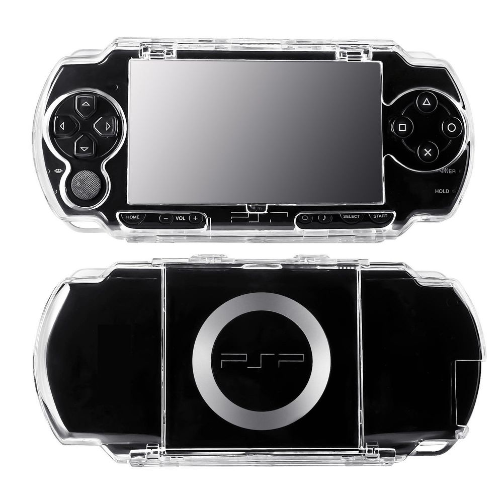 Insten Crystal Case For Sony PSP, Clear